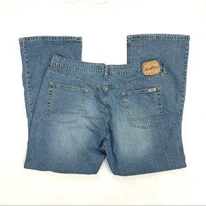 Levi's Stretch Bootcut Jeans Size Misses 18 Short